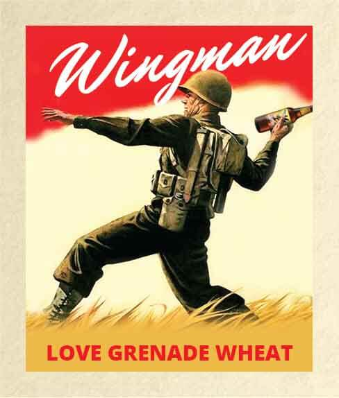 Picture of Wingman Wine Label