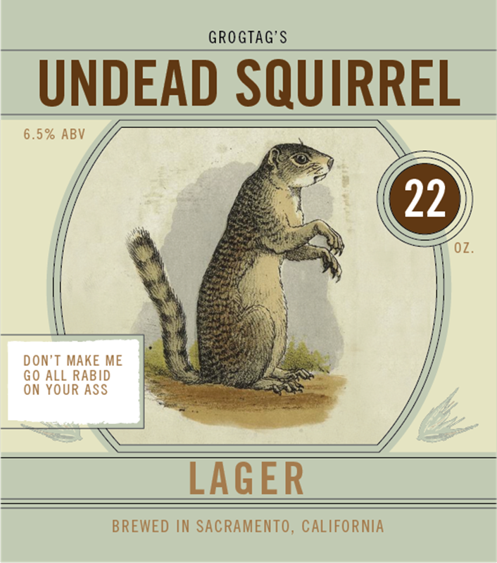 Picture of Undead Squirrel Square Set