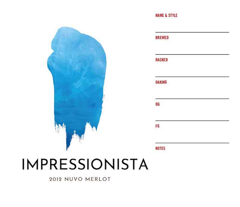 Picture of Impressionista Keg Label