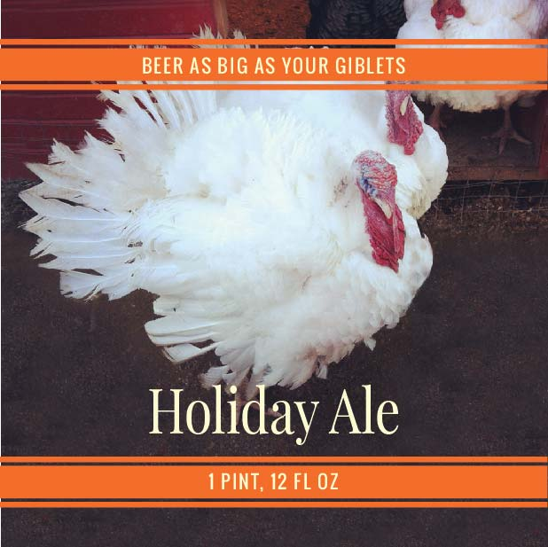 Picture of Holiday Turkey Coaster, Single Sided