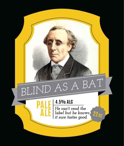 Picture of Blind as a Bat Wine Label