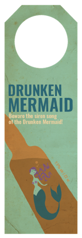 Picture of Drunken Mermaid Hangtag