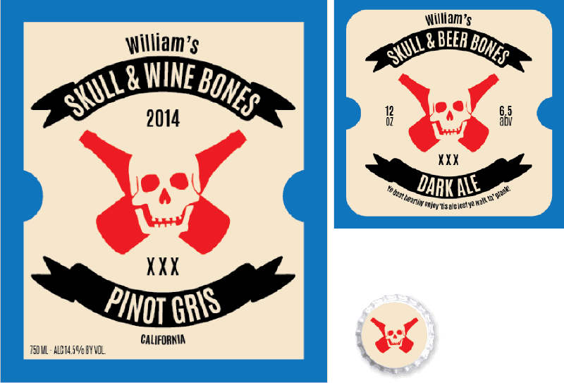 Picture for category Skull & Beer Bones Design