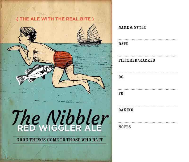 Picture of Nibbler Keg Label