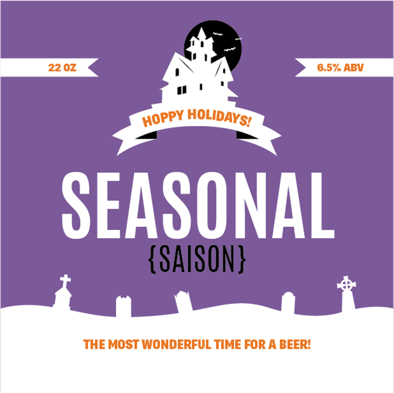 Picture of Seasonal Coaster, Single Sided