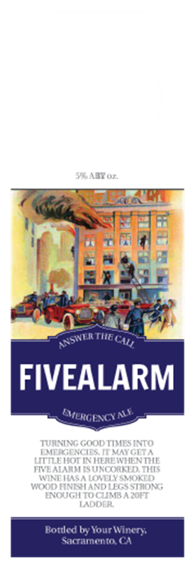 Picture of Five Alarm Hangtag