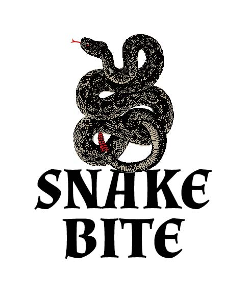 Picture of Snakebite Wine Label