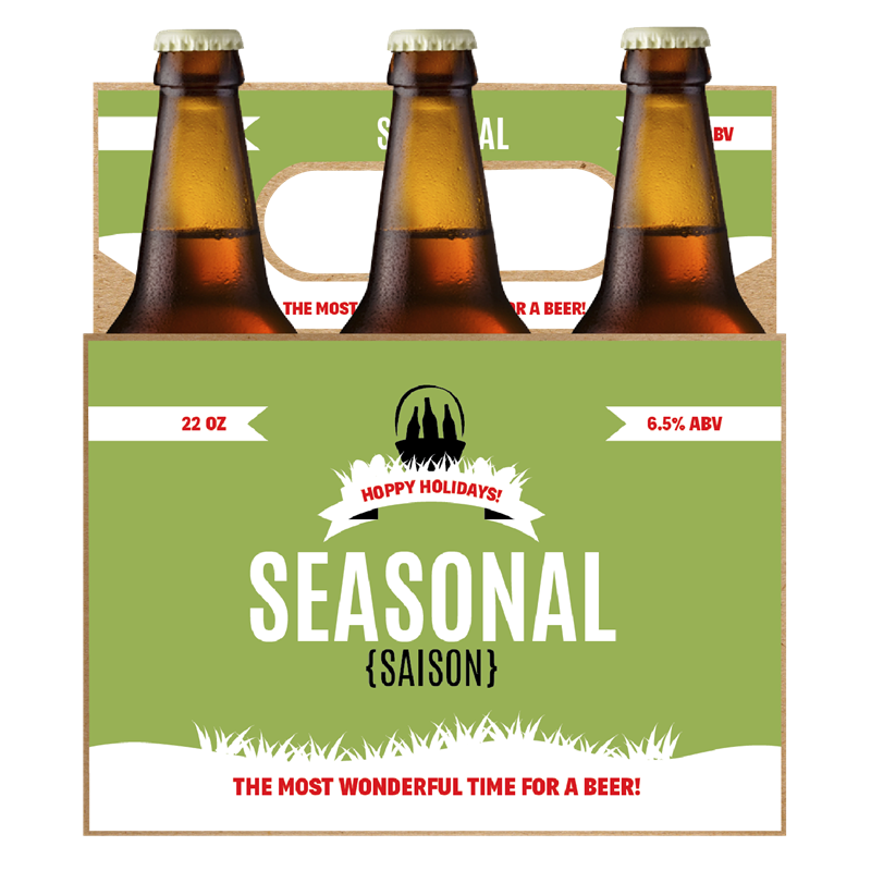 Picture of Seasonal 6-Pack Carrier