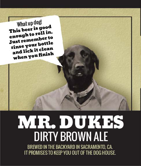 Picture of Mr. Duke TalkBack Wine Label