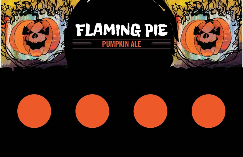 Picture of Flaming Pie Tasting Mat