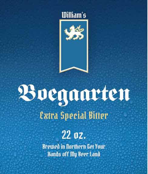 Picture of Boegaarten Wine Label