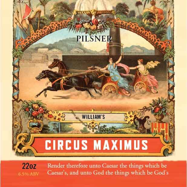 Picture of Circus Maximus Coaster, Single Sided