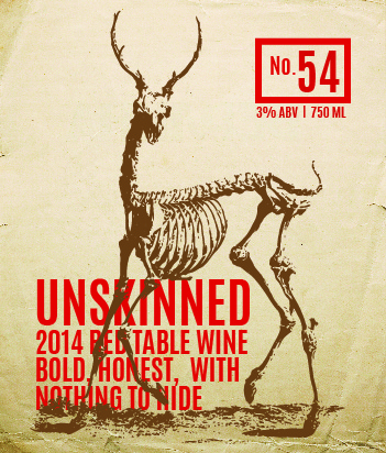 Picture of Unskinned Wine Label