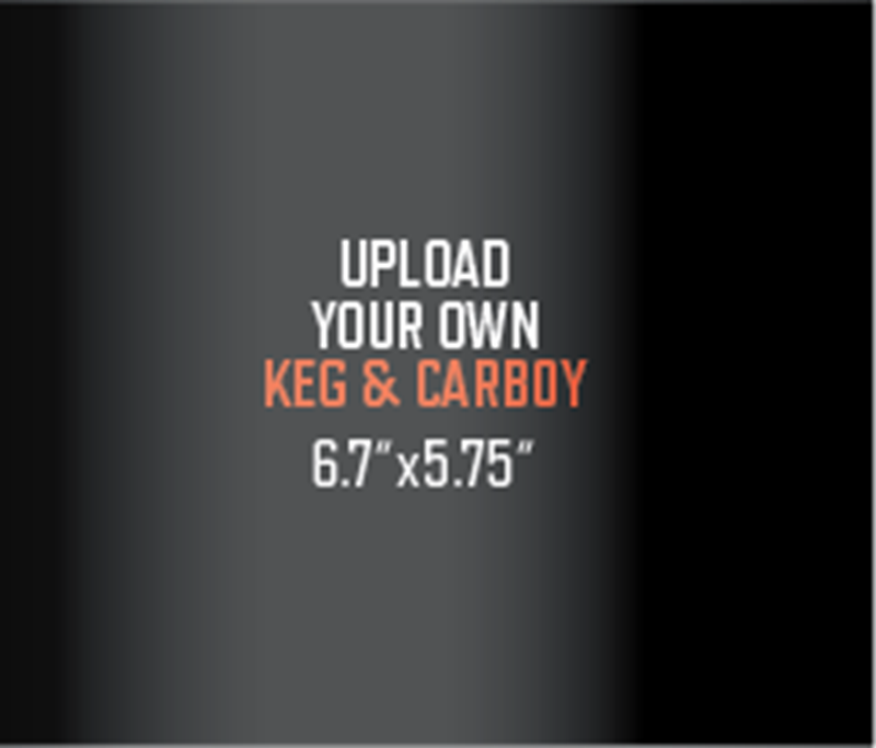 Picture of Upload Your Own Keg Label