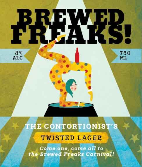 Picture of Brewed Freaks Wine Label