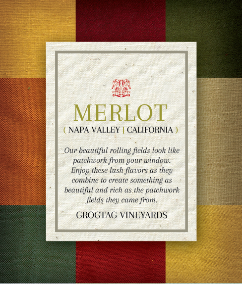 Picture of Patchwork Wine Label