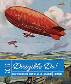 Picture of Dirigible Do! Wine Label