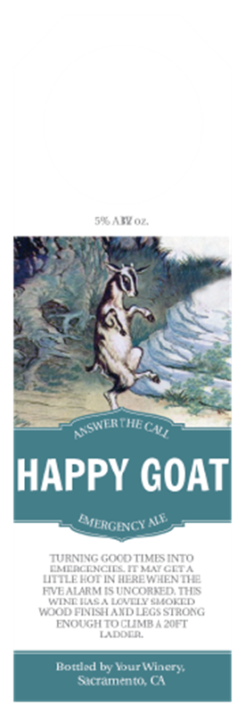 Picture of Happy Goat Hangtag