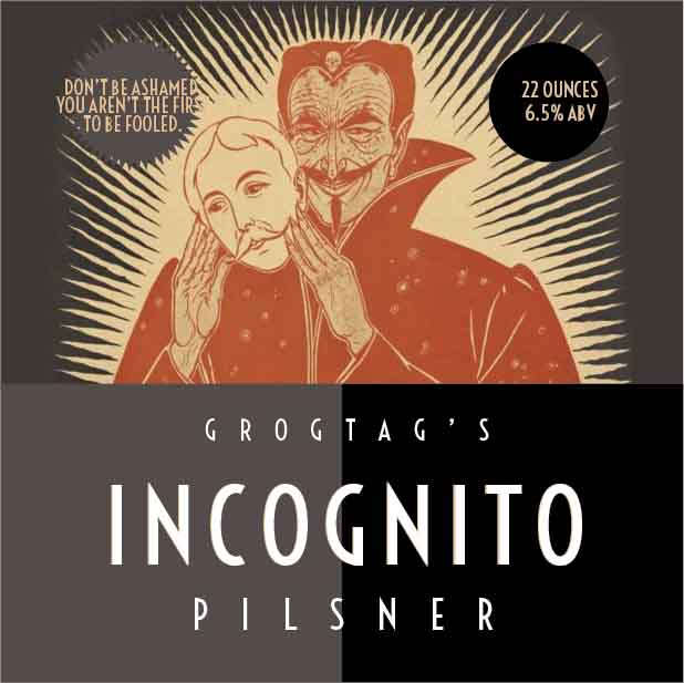 Picture of Incognito Coaster, Single Sided