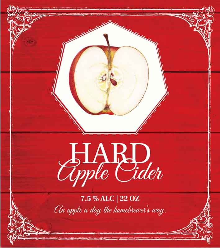 Picture of Hard Apple Cider Metal Sign