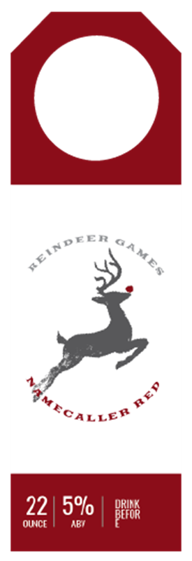 Picture of Reindeer Games Hangtag