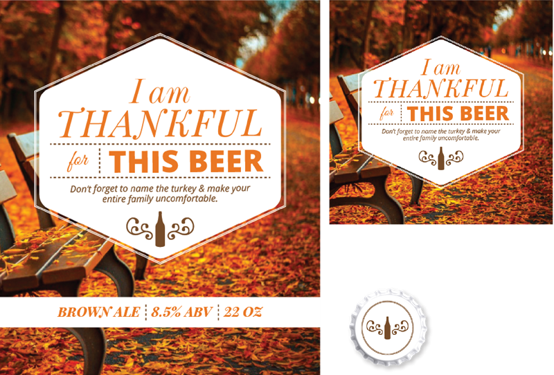 Picture for category Thankful for Beer Design