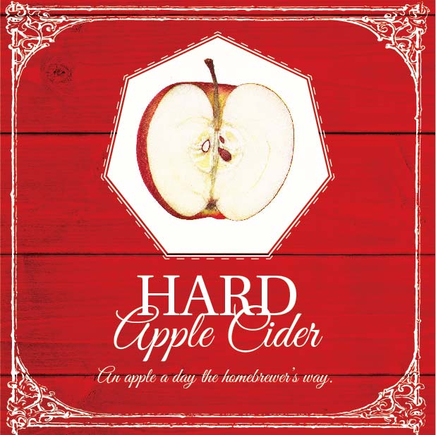 Picture of Hard Apple Cider Coaster, Single Sided