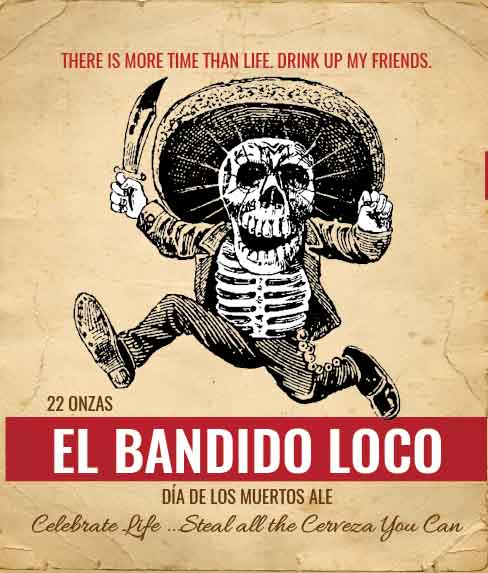 Picture of El Bandido Wine Label