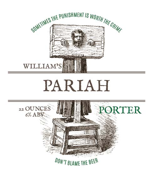 Picture of Pariah Wine Label