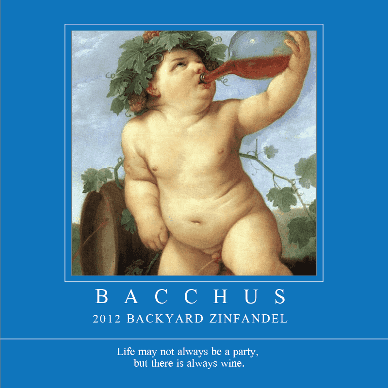 Picture of Bacchus Coaster, Single Sided