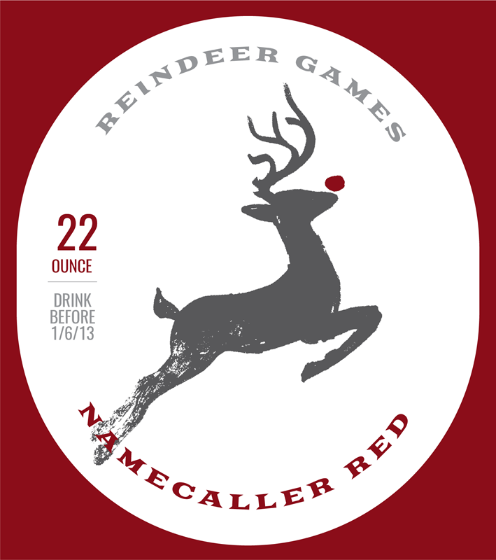 Picture of Reindeer Games Metal Sign