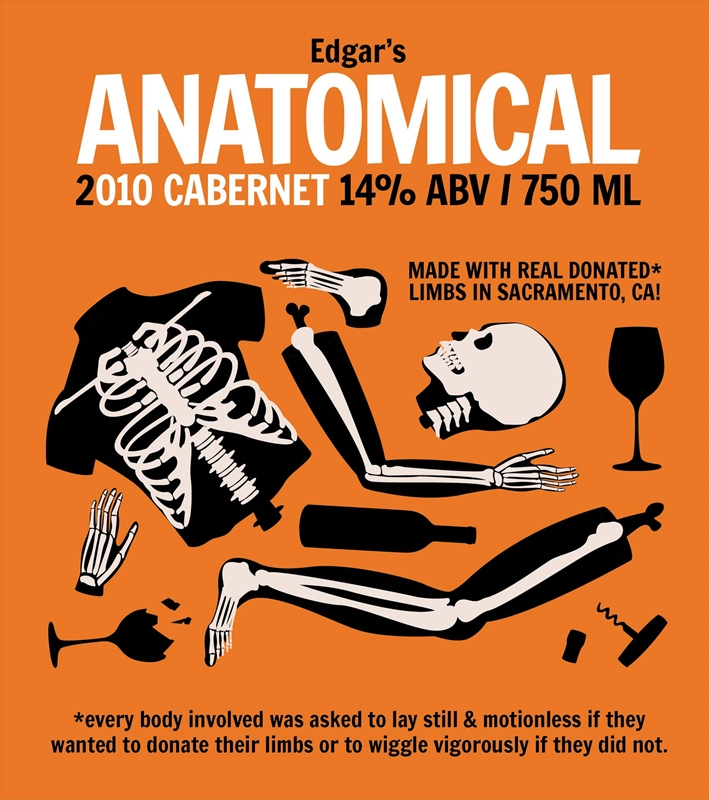 Picture of Anatomical Metal Sign