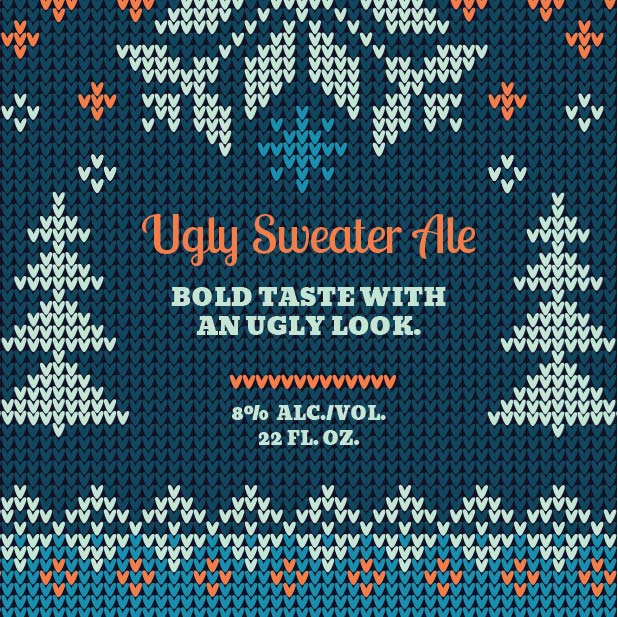 Picture of Ugly Sweater Coaster, Single Sided