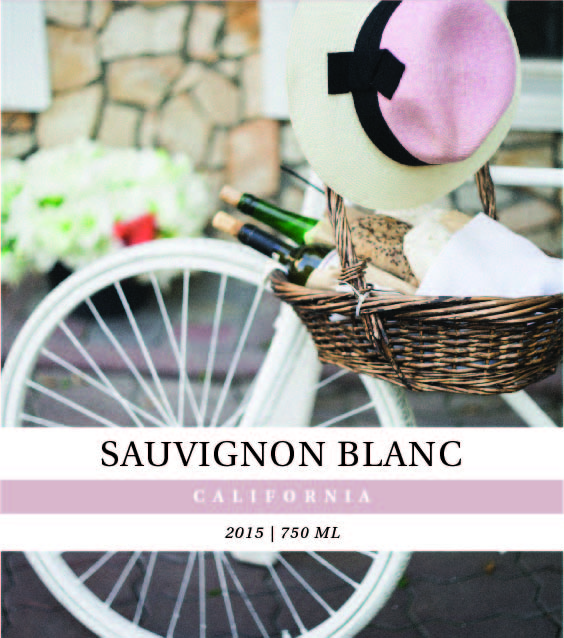 Picture of Blanc Photo Wine Label