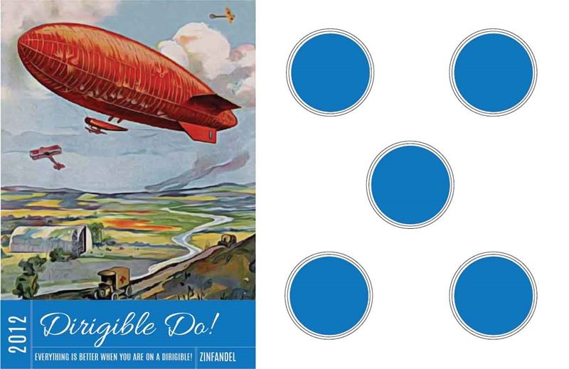 Picture of Dirigible Do! Tasting Mat