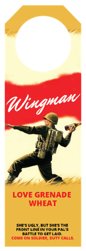 Picture of Wingman Hangtag