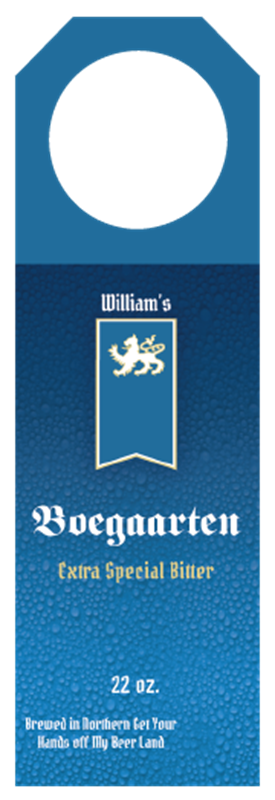 Picture of Boegaarten Hangtag