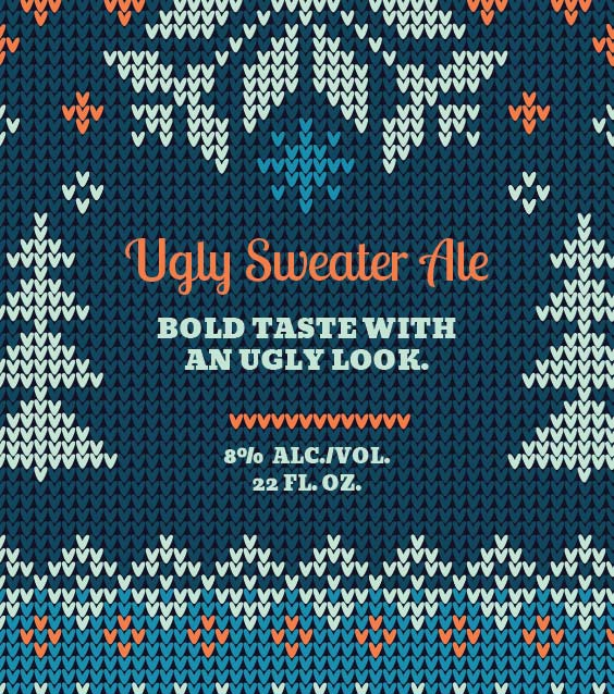Picture of Ugly Sweater Square Set Landscape