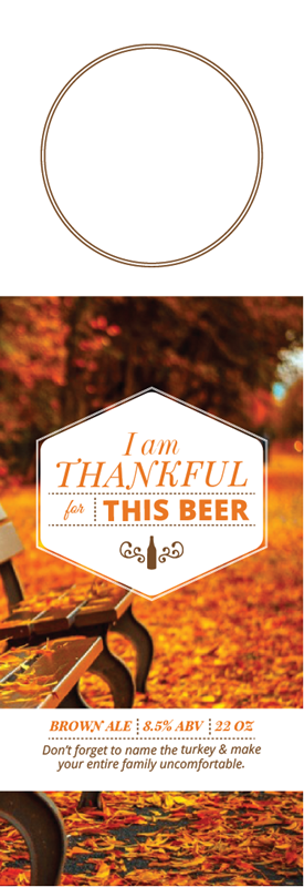 Picture of Thankful 4 Beer Hangtag