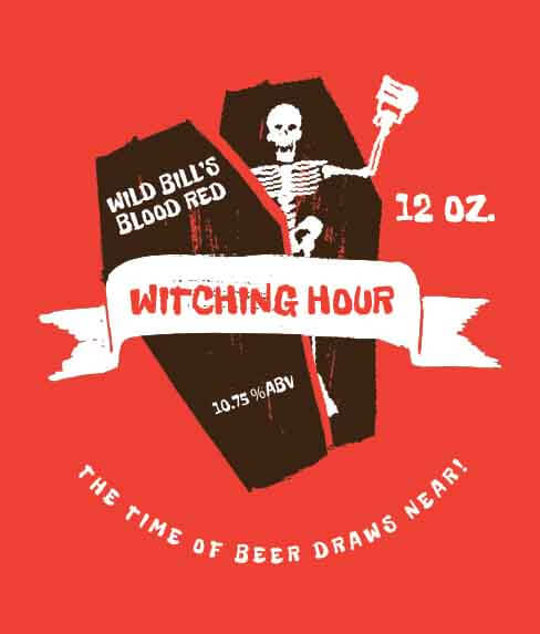Picture of Witching Hour Wine Label