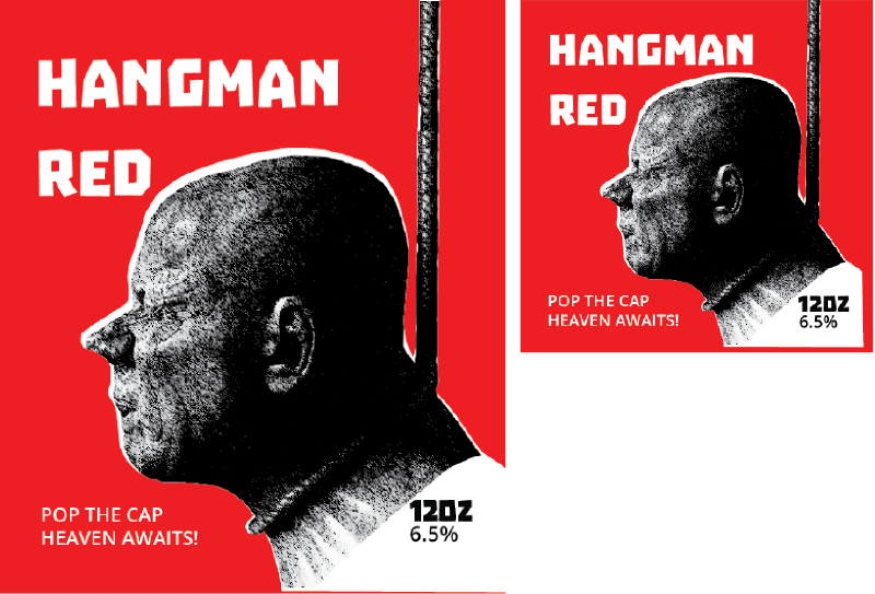 Picture for category Hangman Red Design