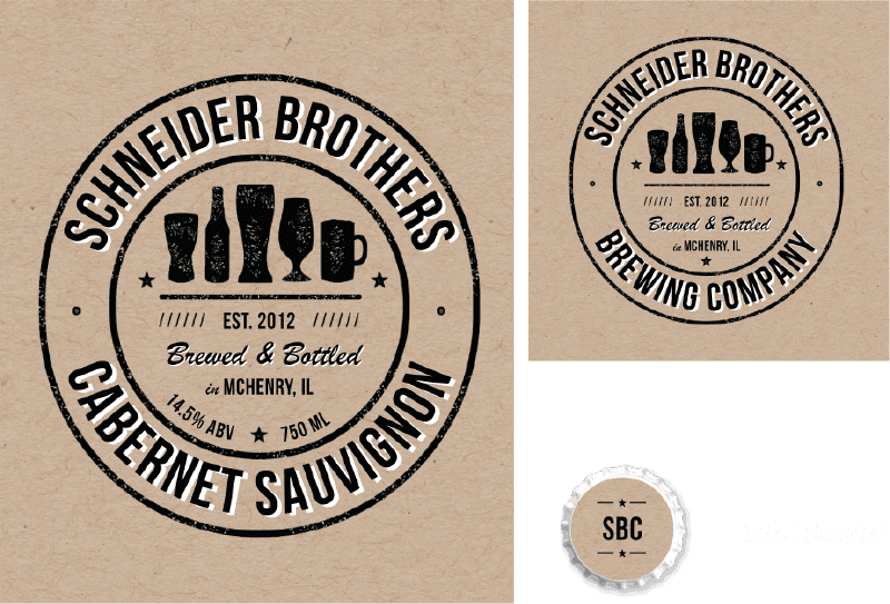 Picture for category Schneider Brothers Guest Beer Label Design