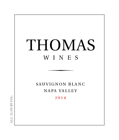 Picture of Thomas Wine Label