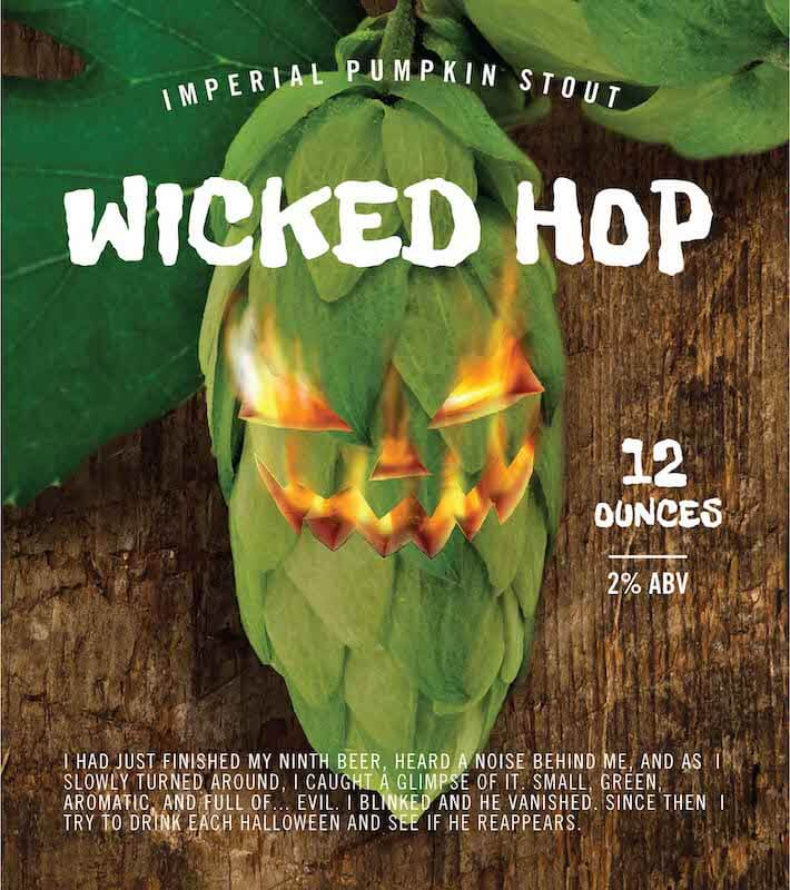 Picture of Wicked Hop Metal Sign