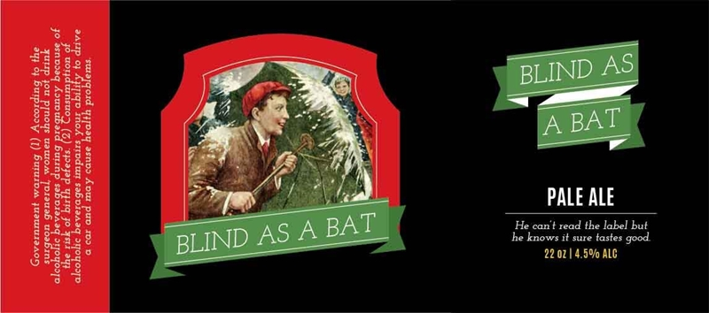 Picture of XMAS Blind as a Bat Fullwrap