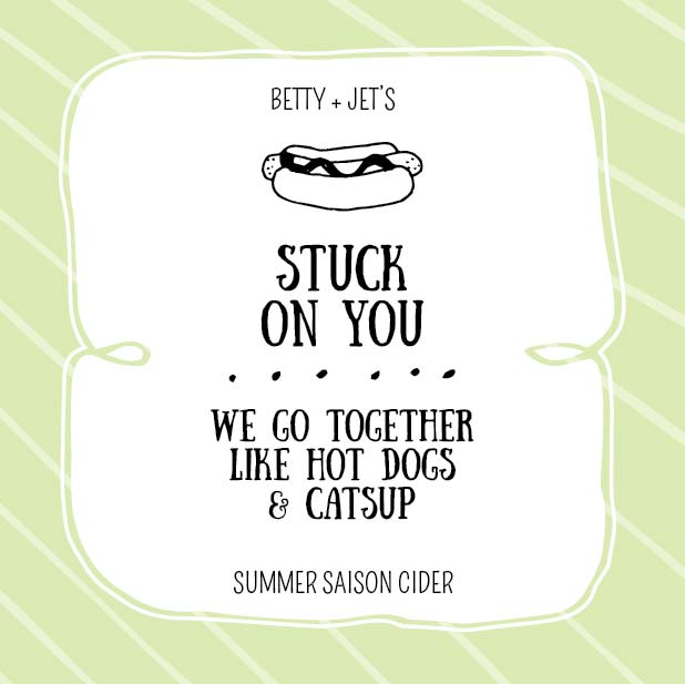 Picture of Stuck on You Coaster, Single Sided