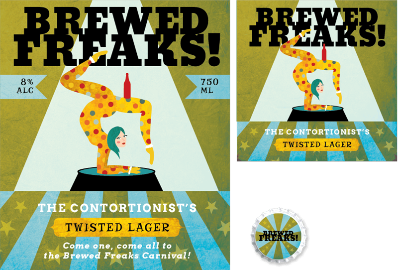 Picture for category Brewed Freaks Design - Retro Design