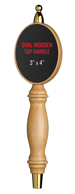 Picture of Oval Wooded Tap Handle