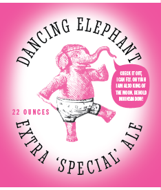 Picture of Dancing Elephant Wine Label