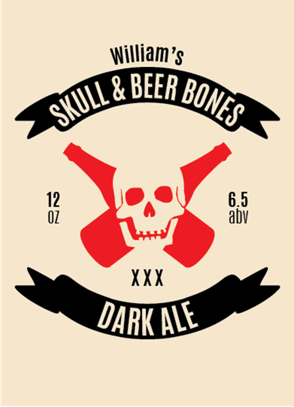 Picture of Skull & Beer Bones Basic